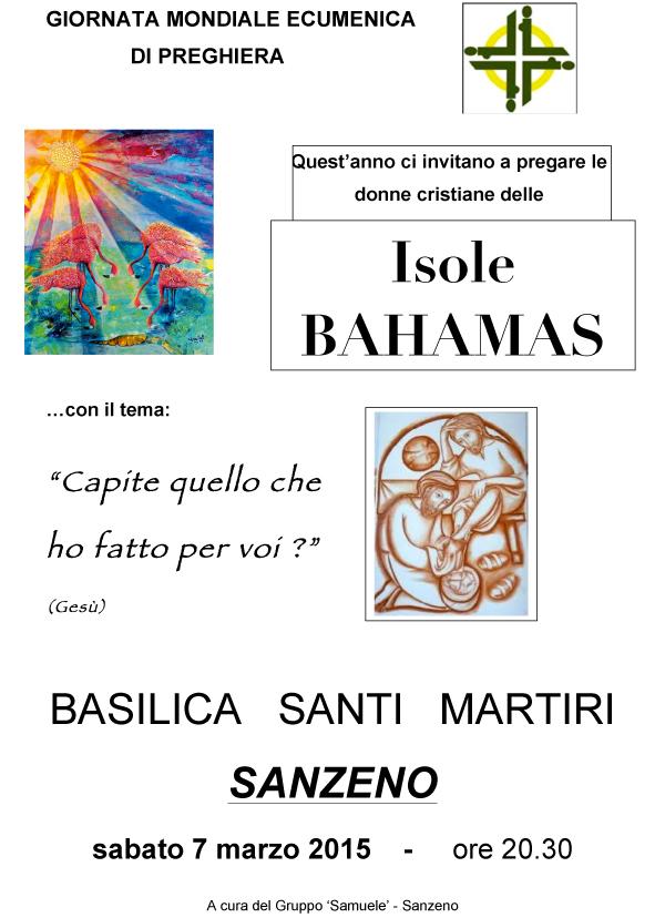 07.03.2015, TRENTO: Giornata Mondiale Ecumenica di Preghiera @ Basilica Santi Martiri - SANZENO (TN)