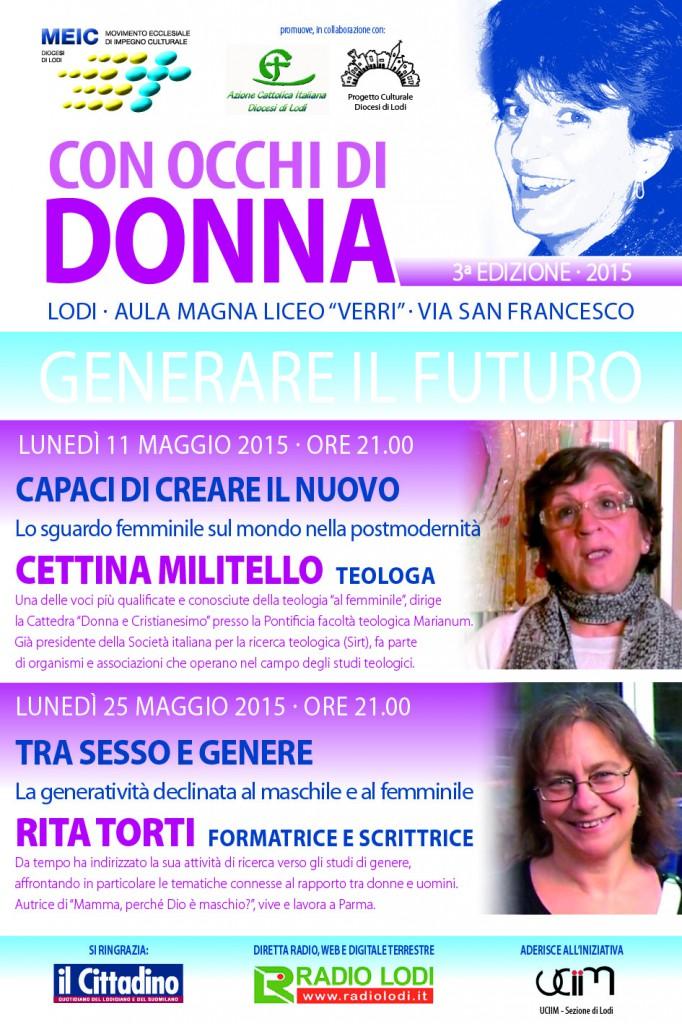 """25.05.2015, LODI: Incontro con Rita Torti """" Tra sesso e genere"""" @ Aula Magna Liceo Verri, Lodi"""