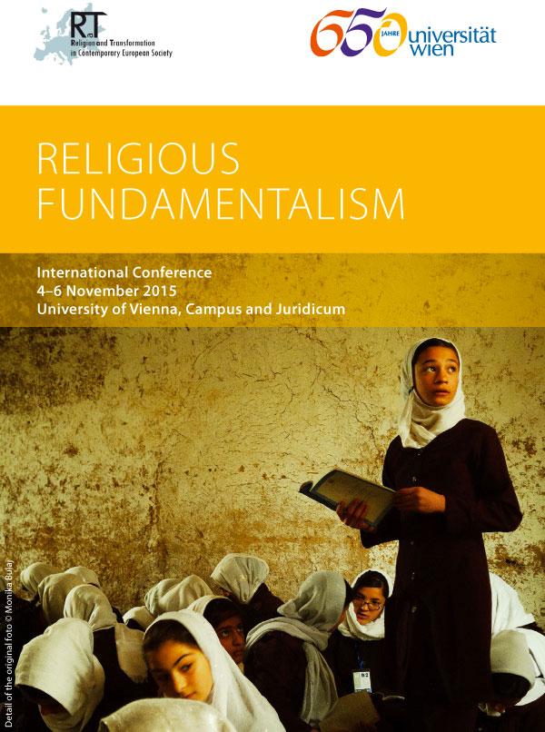 4-6.11.2015, VIENNA: Religious Fundamentalism