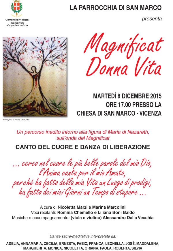 08.12.2015, VICENZA: Magnificat Donna Vita @ Chiesa San Marco - Vicenza