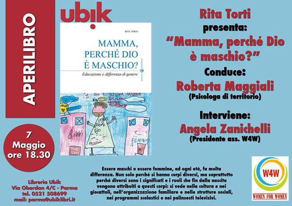 "07.05.2016, PARMA: Presentazione ""Mamma, perchè Dio è maschio"" @ Libreria Ubik | Parma | Emilia-Romagna | Italia"
