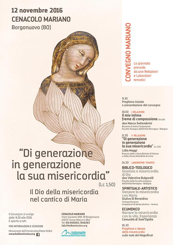 12.11.2016, BORGONUOVO (BO): Convegno Mariano @ Borgonuovo-Sasso Marconi (BO)