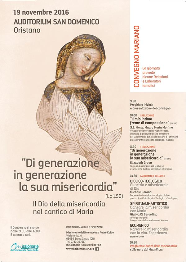 19.11.2016, ORISTANO: Convegno Mariano @ Auditorium San Domenico, Oristano