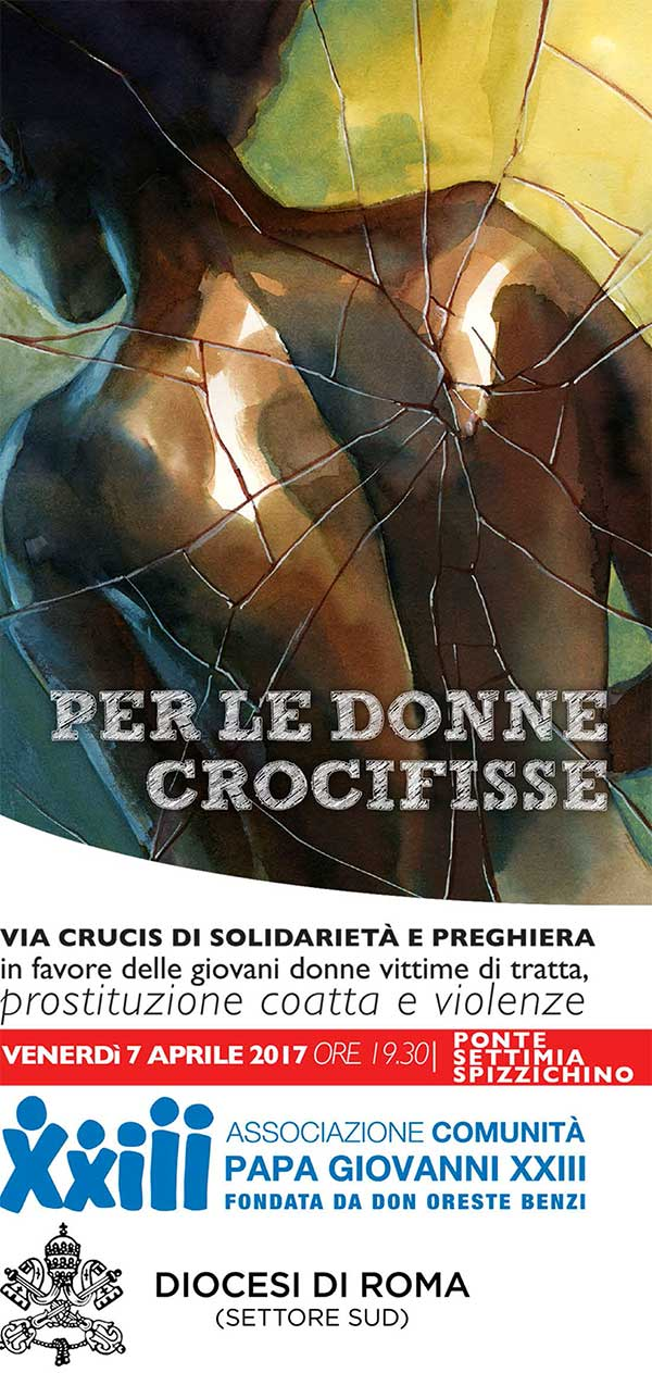 07.04.2017, ROMA: VIA CRICIS - DICOESI ROMA SUD @ Ponte Settimia Pizzichino