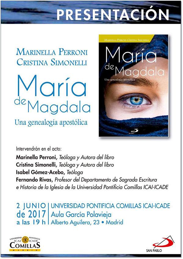 """02.06.2017, MADRID: Presentazione Libro """"Maria di Magdala"""""""
