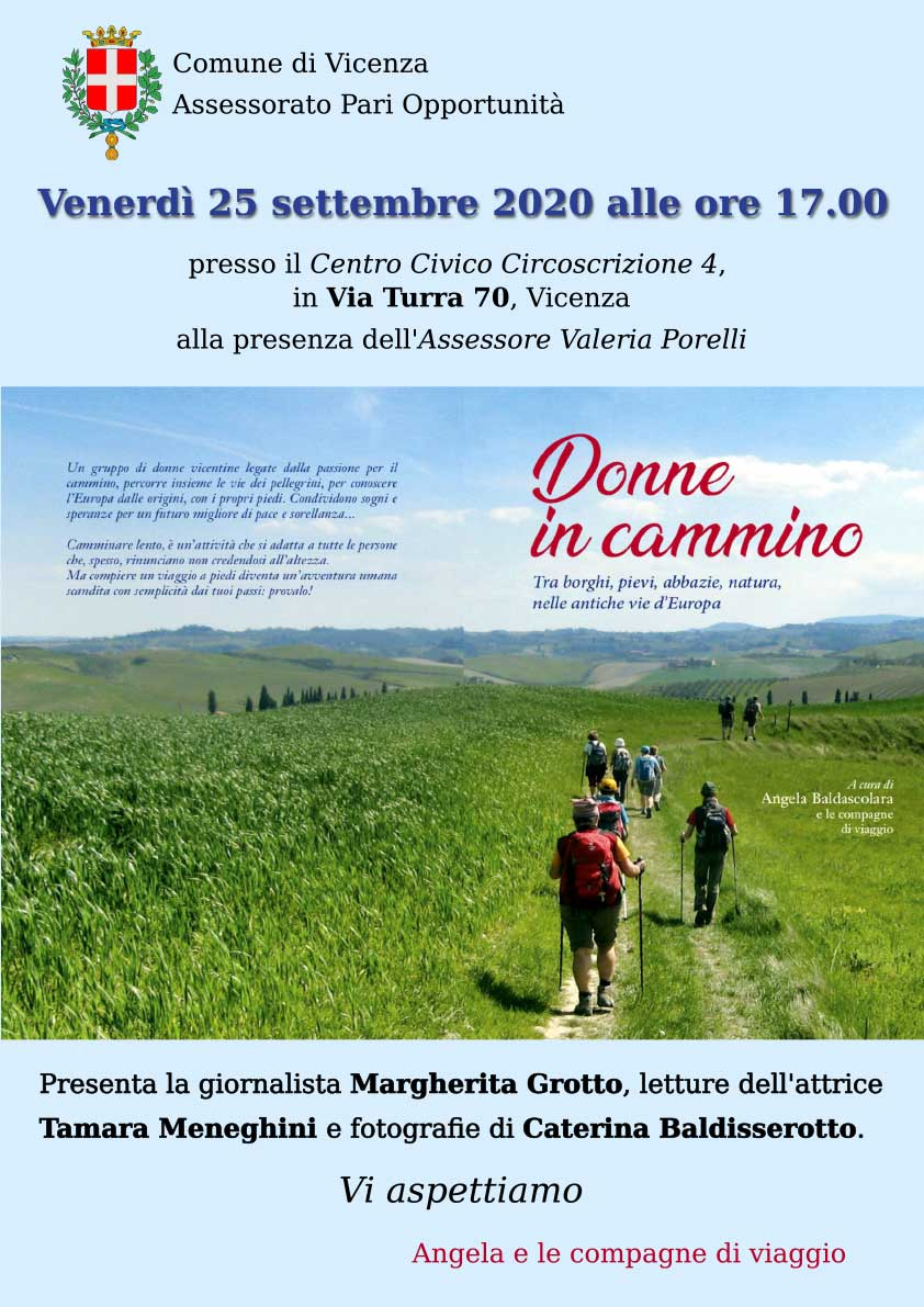 25.09.2020, VICENZA: Donne in cammino