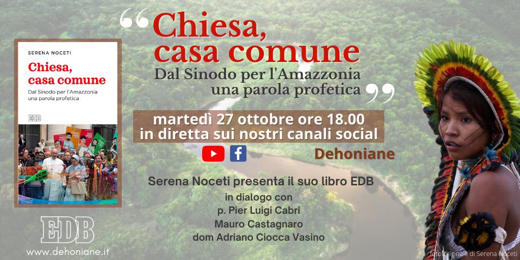 27.10.2020, ONLINE:  Chiesa Casa comune