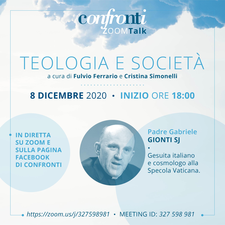08.12.2020, ONLINE: Teologia e Società