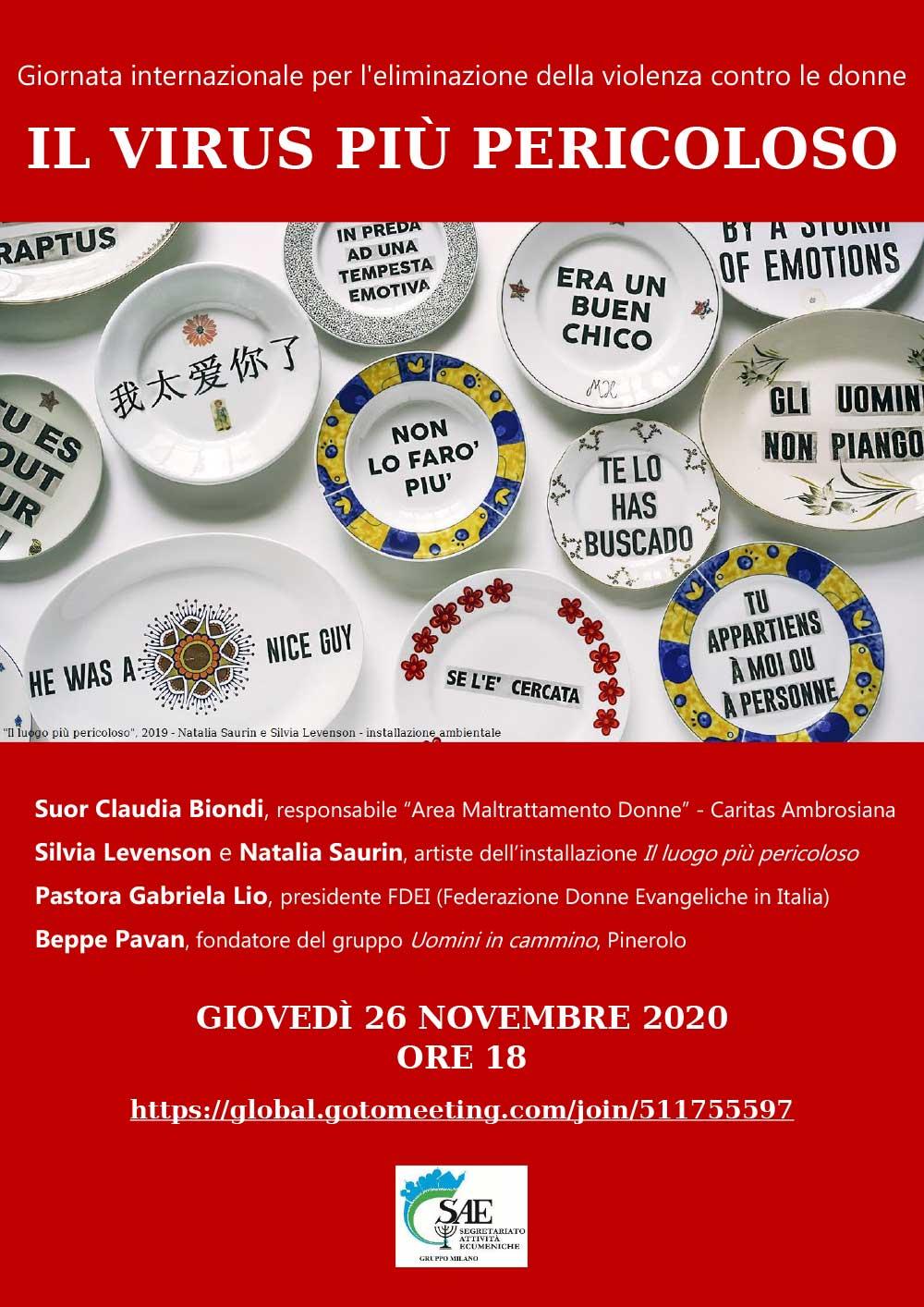 26.11.2020, ONLINE: Il virus più pericoloso