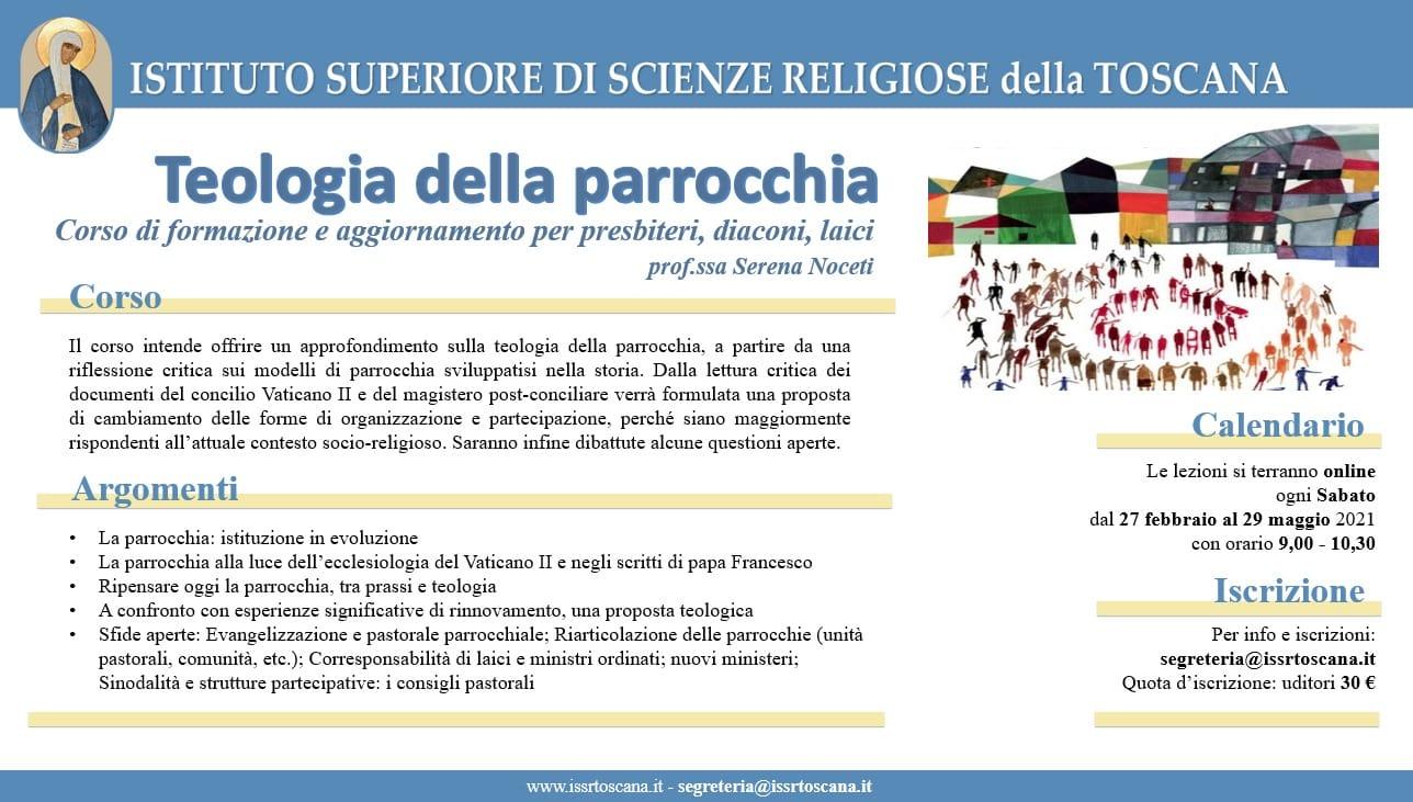 Corso online: Teologia della Parrocchia