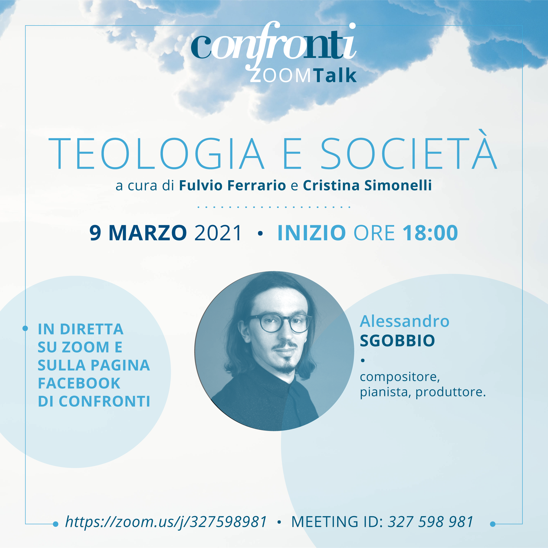 09.03.2021, ONLINE: Teologia e società