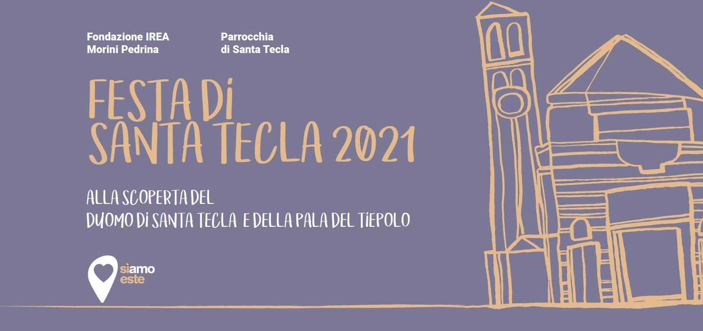 """25.09.2021, ESTE (PD): Presentazione del libro """"Tecla. Io mi battezzo nell'ultimo giorno"""" - con l'autrice Alice Bianchi"""