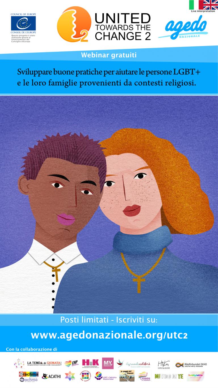 DAL 21.10.2021, WEBINAR GRATUITI: Chiese e LGBT+